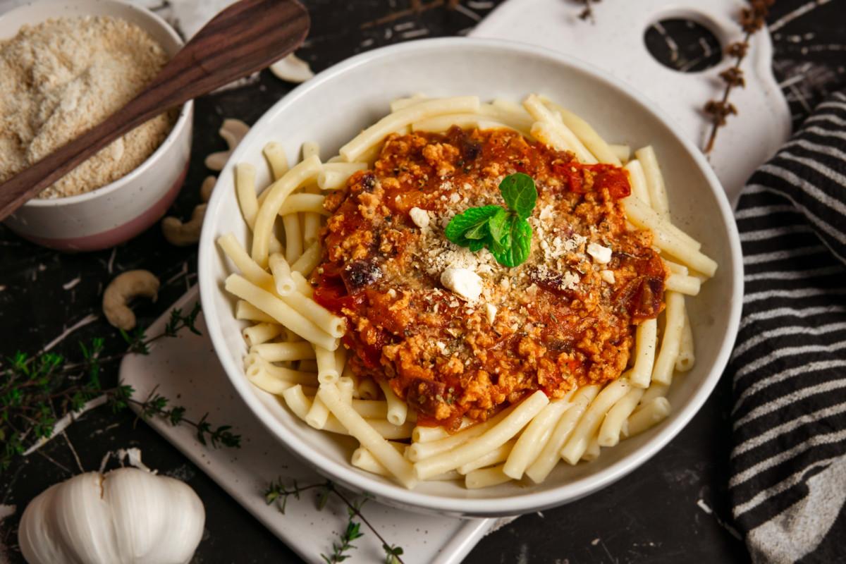 Vegane Bolognese Soja-Bolognese