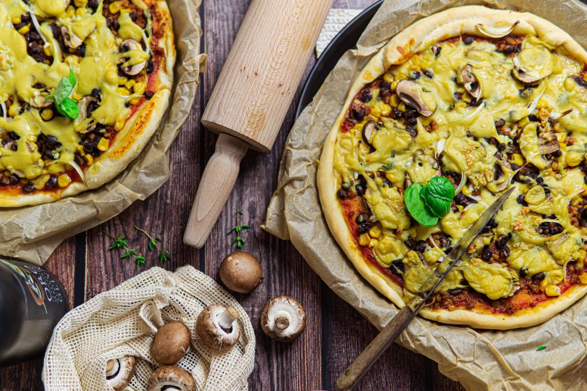 Tex-Mex Pizza Vegan