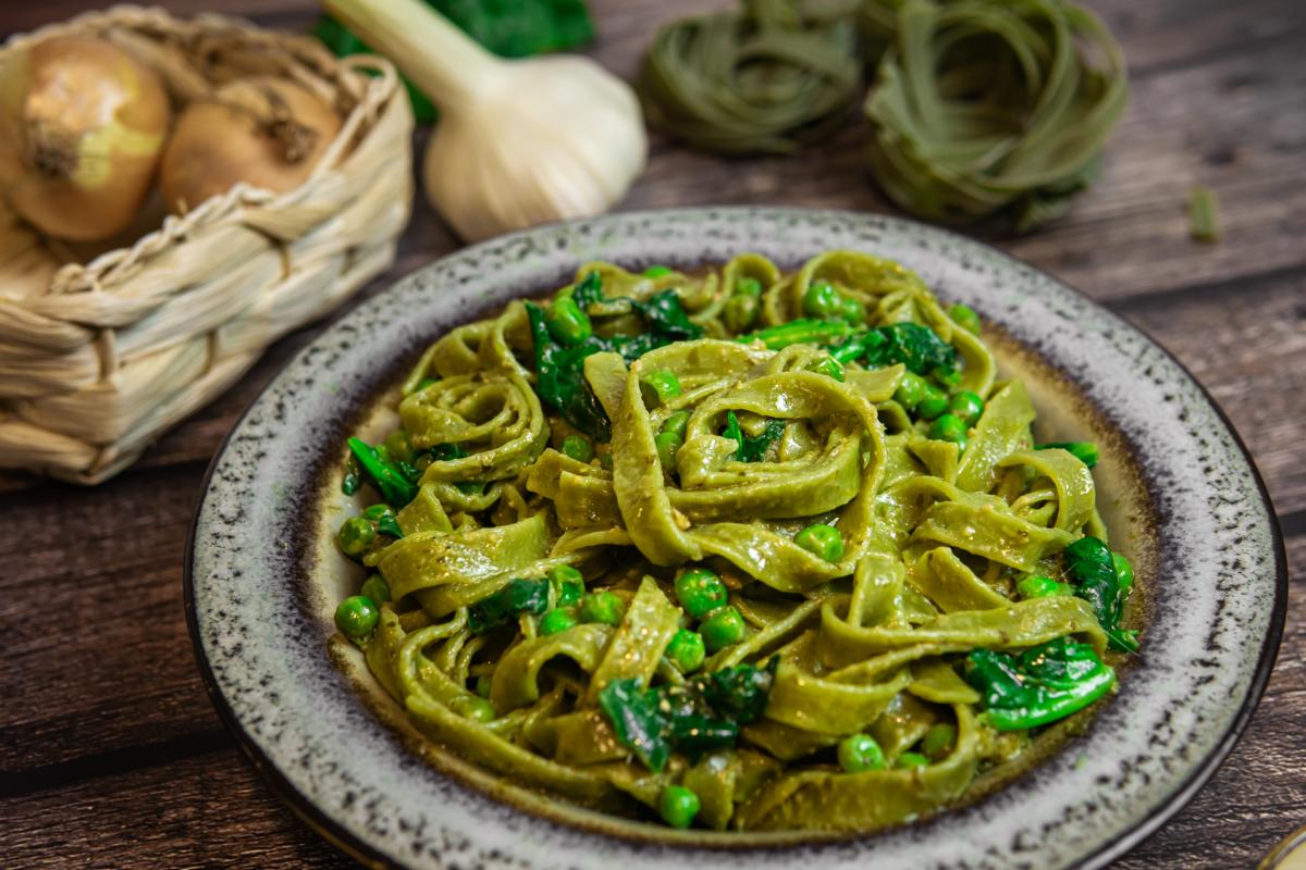 Schnelle Nudelgerichte Pesto